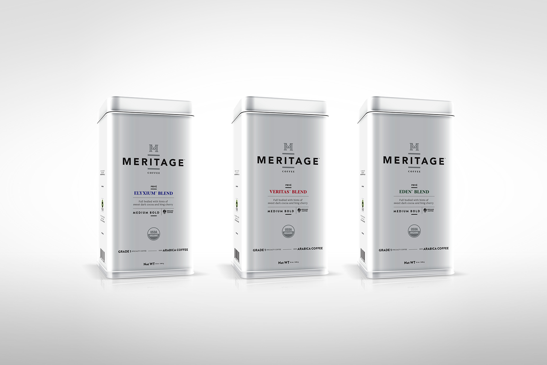 Dedica Group Meritage Coffee Packaging Featured On The Dieline.