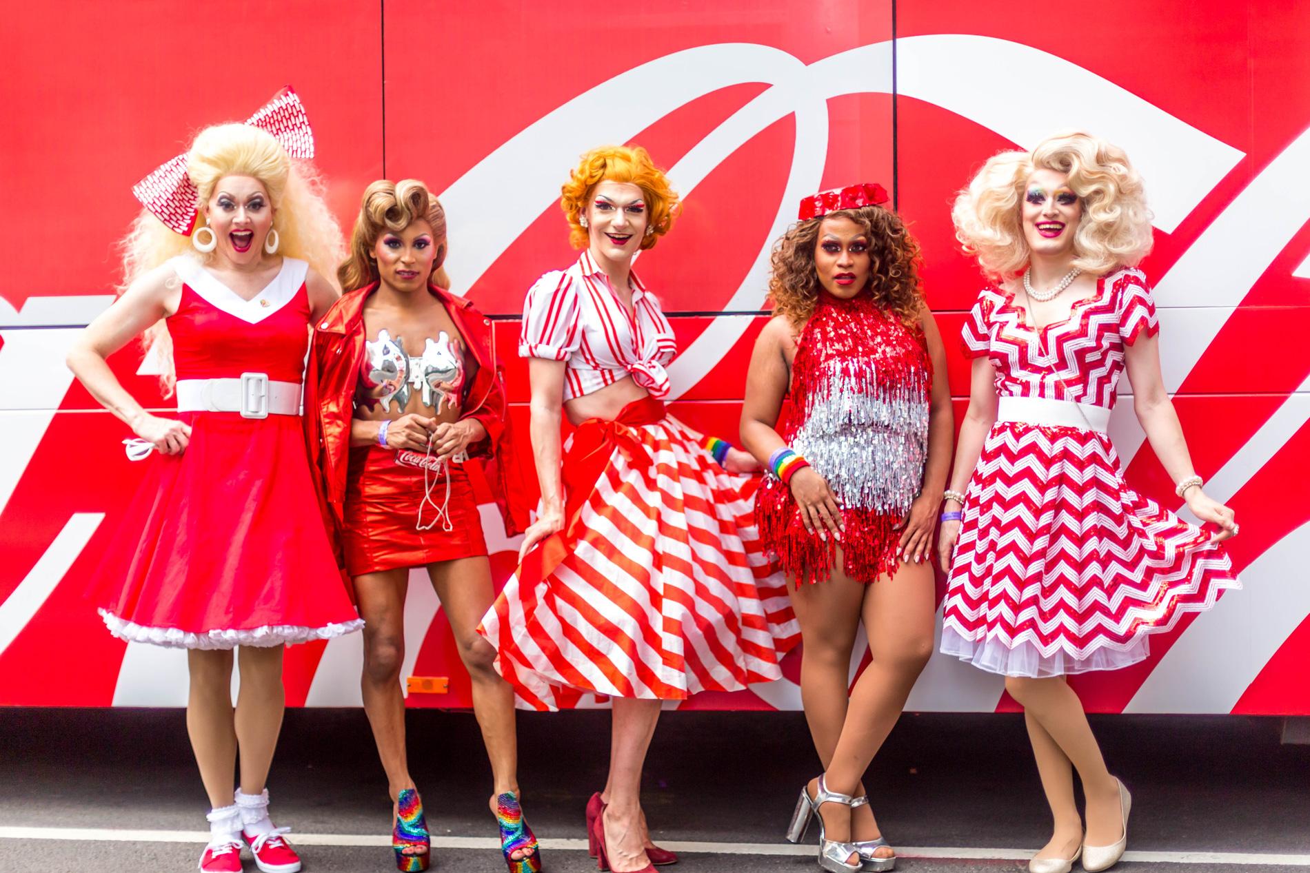 Coca-Cola NYC Pride Activation